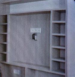 ремонт - место под телевизор