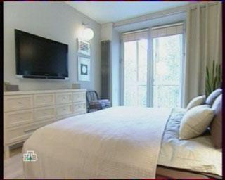 мебель для спальни фото, большой телевизор,
