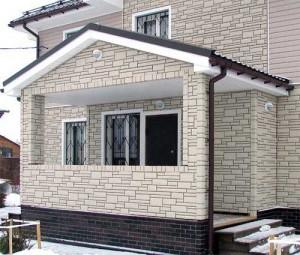 Цементный сайдинг для отделки наружных стен