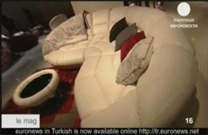 белый диван, мебель для гостиной фото