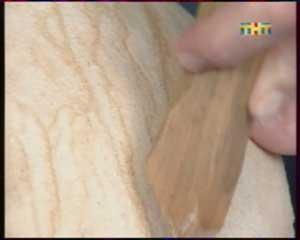 Швы и стыки между отдельными кусками гибкого камня