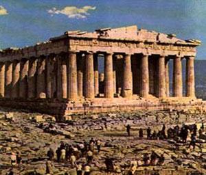 архитектура Древней Греции, колоннада