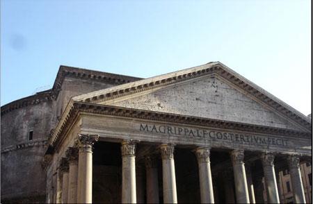 архитектура древнего Рима, пантеон
