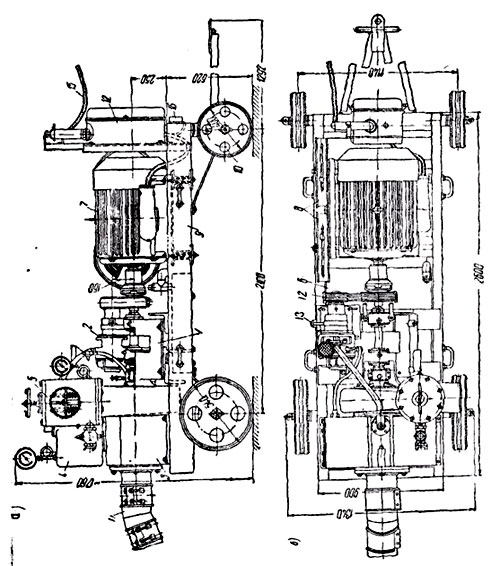 Насосный агрегат ПВУ-2