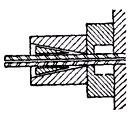 схема цангового зажима
