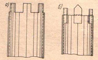 схема головы стальной винтовой сваи