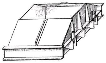 съемная металлическая форма