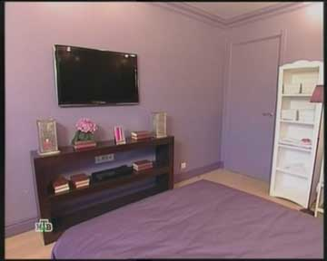 телевизор на стене фото