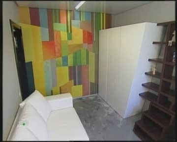 интерьер комнаты для подростка фото, кожаный диван фото