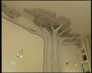 протечки потолка фото