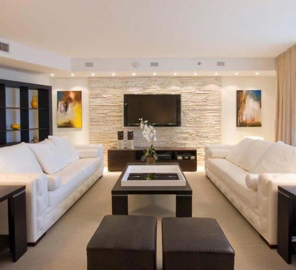 Два дивана в гостиной фото