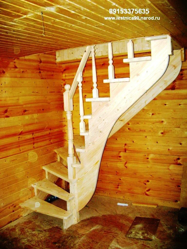 Лестницы в дачном доме своими руками
