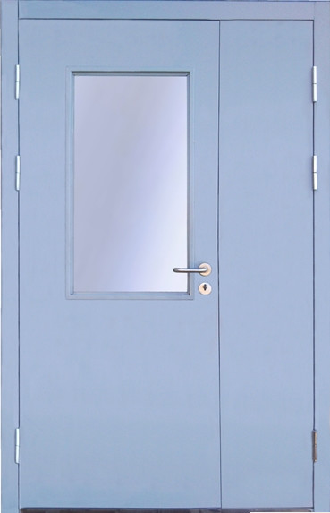 дверь металлическая остекленная прайс