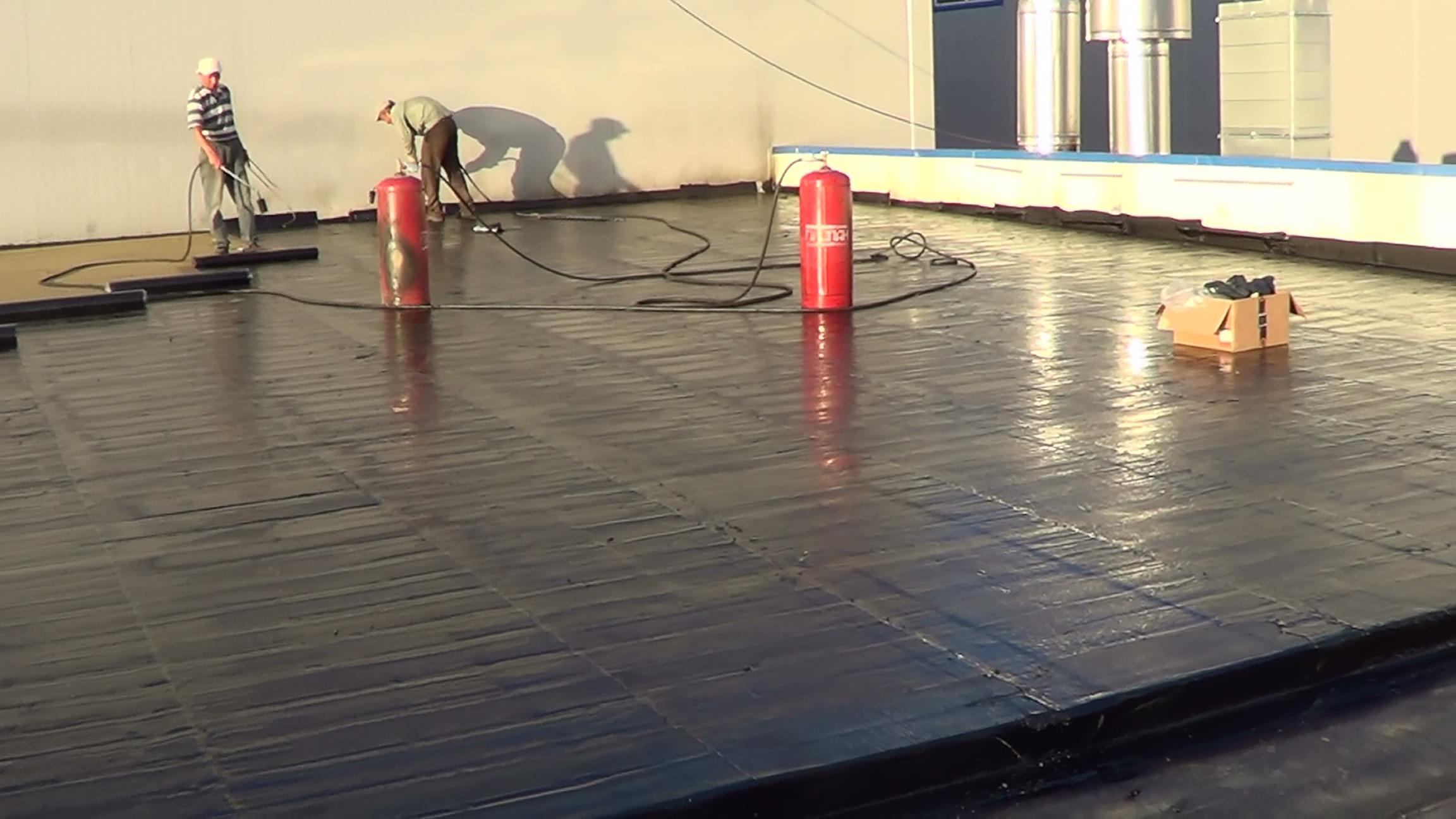 Ремонт крыши бикростом своими руками