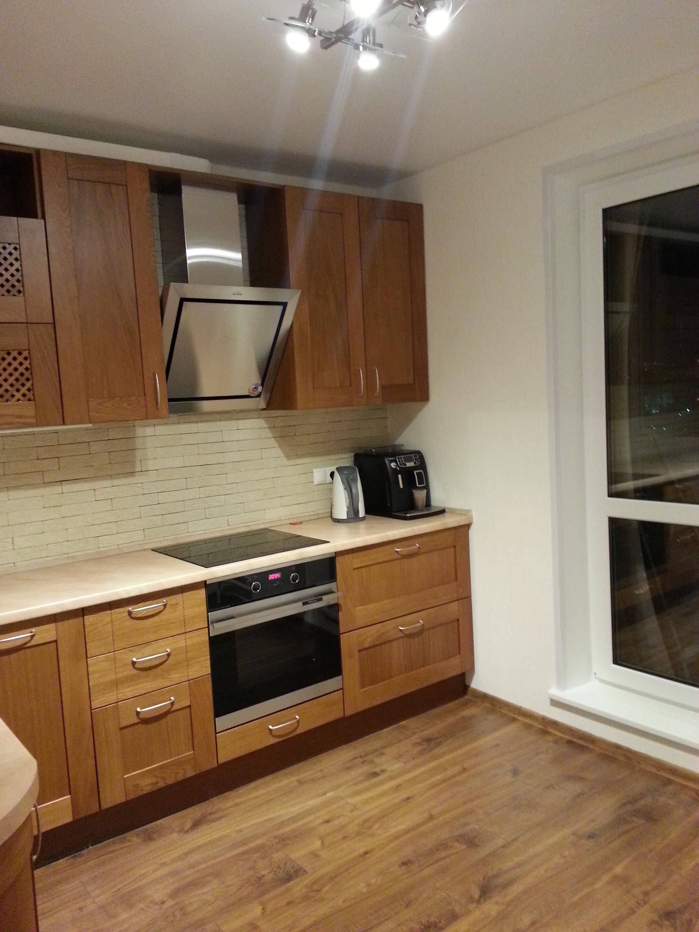 Фото выполненного ремонта кухни