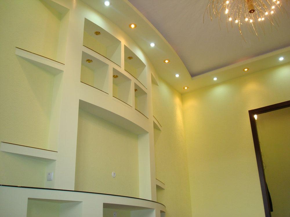 Ремонт квартир из гипсокартона фото