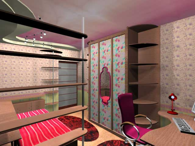 Деиская комната в проекте