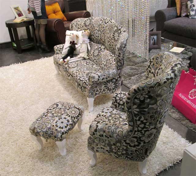 Детская мягкая мебель диван и кресло