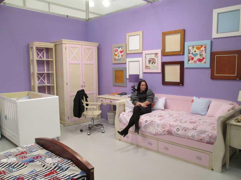 Дизайн детской комнаты - выставочная экспозиция