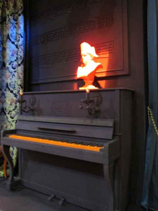 Фортепьяно в декоре интерьера