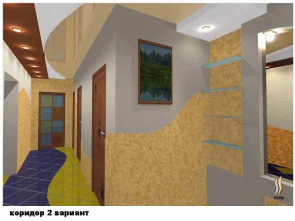 вид коридора