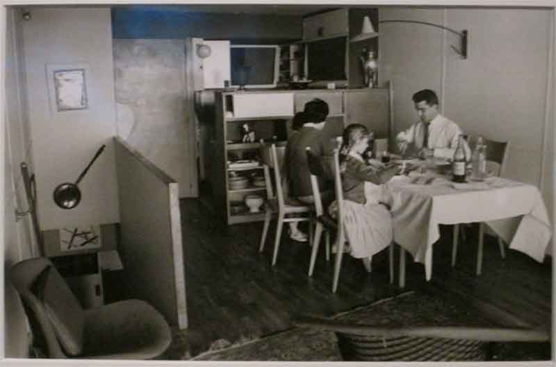 Фото дизайна кухни столовой Корбюзье