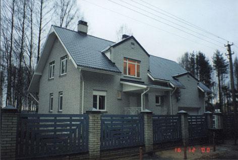 Фото дома с эркером