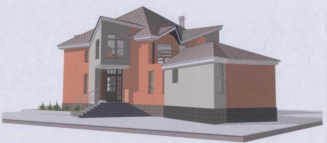 Проект сложного дома
