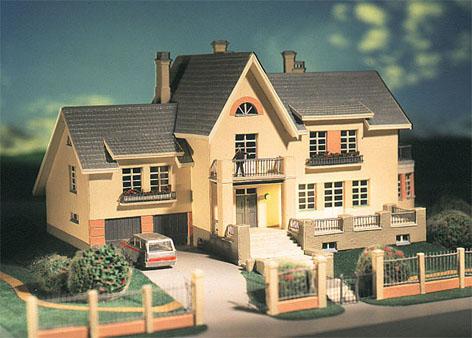 Фото двухэтажного дома