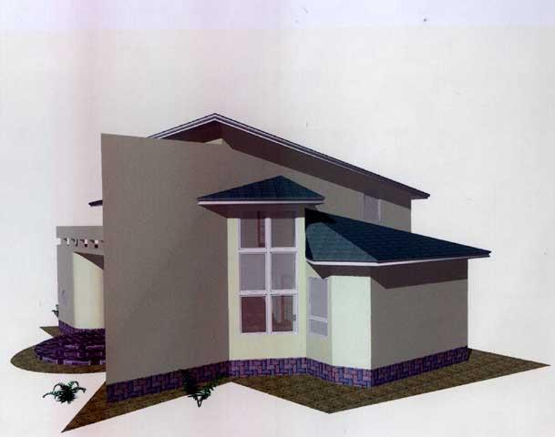 пример интересного дома