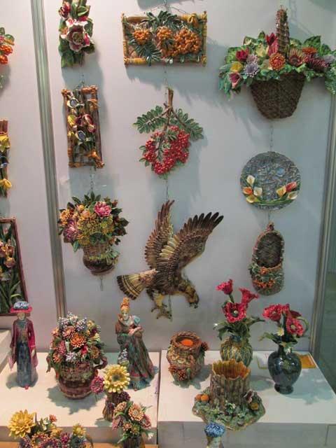 Фото керамических сувениров