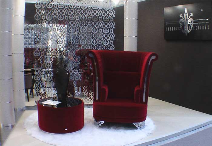 Фото красного кресла для уединения