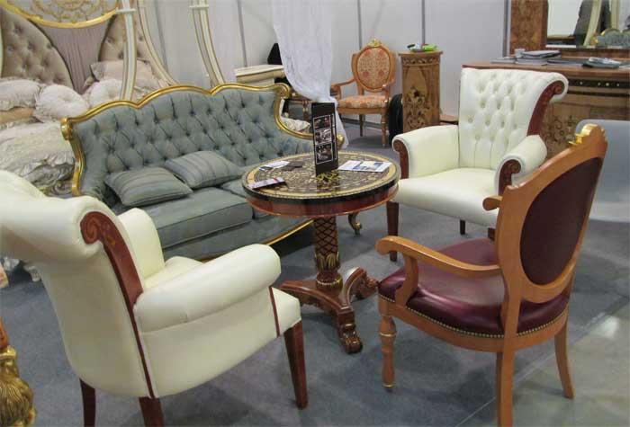 Фото кресла классический стиль