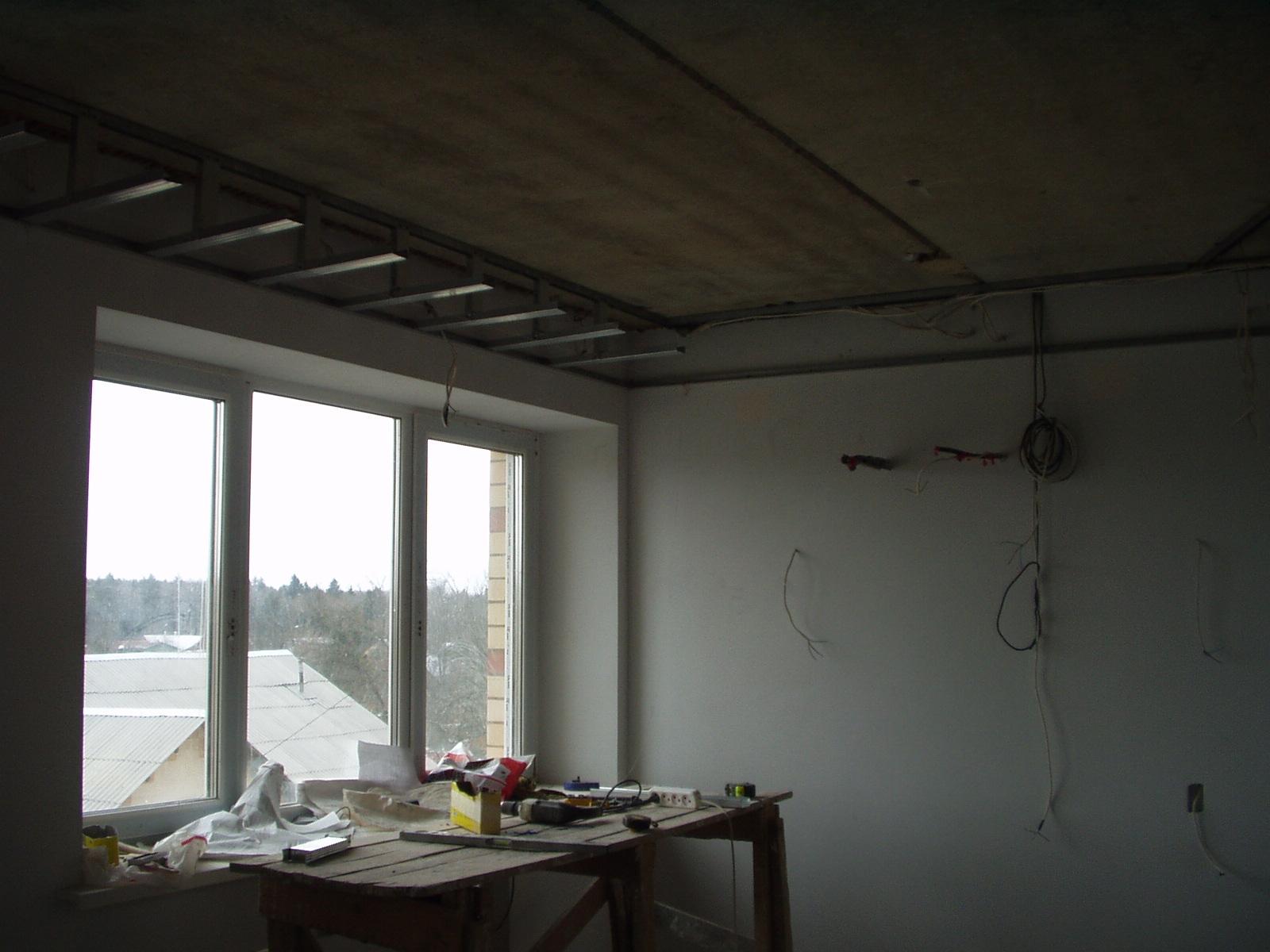 создать многоуровневый потолок