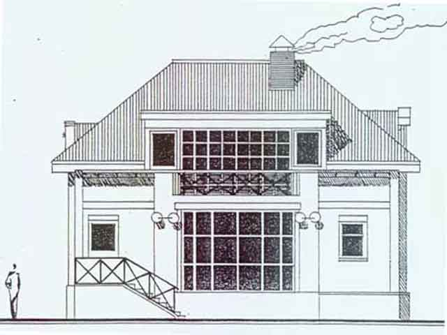 1-этажный дом