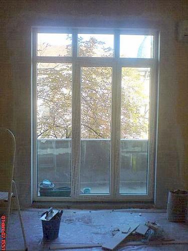 стеклянная стенка