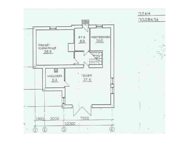 план жилой дом