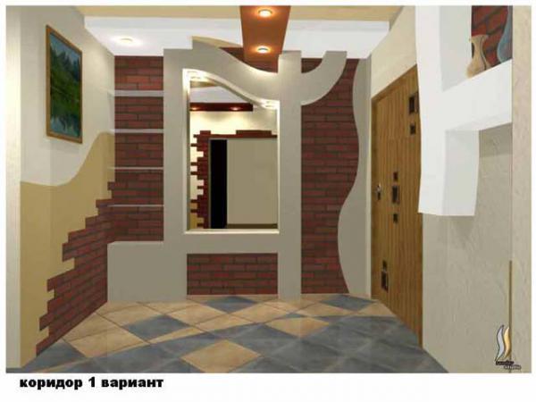 прихожая с коридором