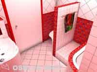 вид ступеньки в ванной