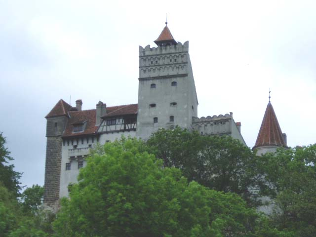 фото замка Бран