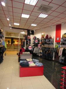 бутик. торговый зал