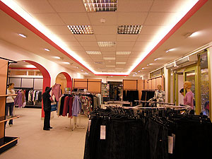 вид торгового зала