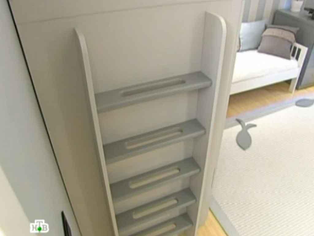 Фото устройства лестницы на кровать