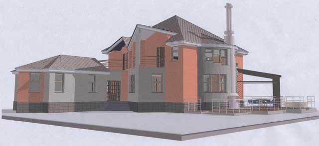 дом со сложной планировкой