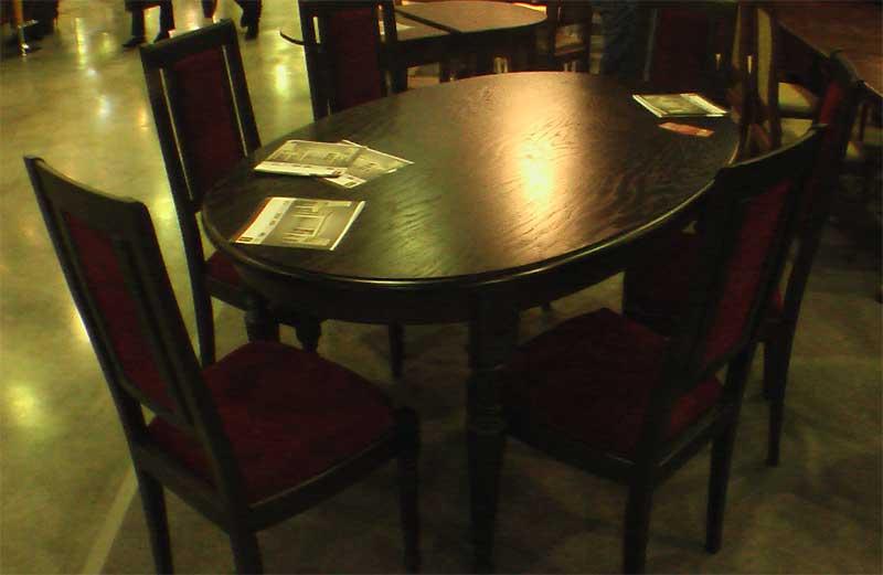 Комплект стола со стульями