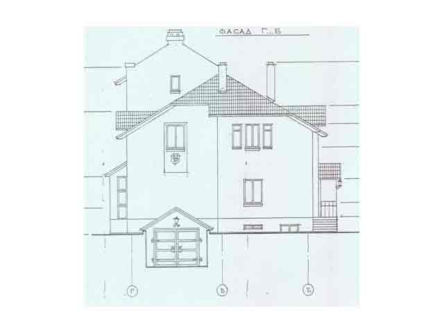 фасад домика