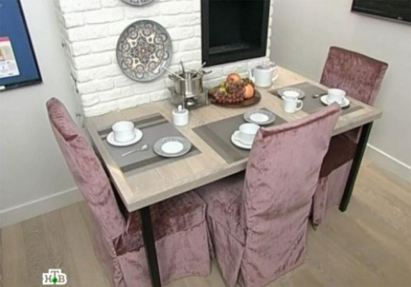 Особенности стационарного стола на кухне