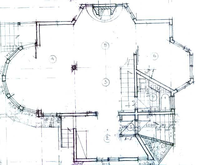 первый этаж план