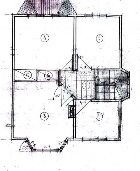 второй этаж план дома