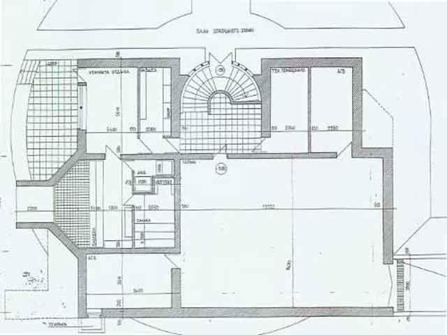 Нулевой этаж план